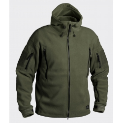 Bluza polarowa PATRIOT - Double Fleece - Olive Green Helikon