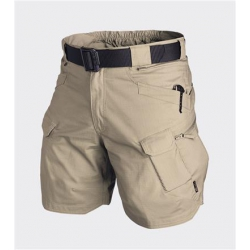 "Spodnie UTS® (Urban Tactical Shorts®) 8.5"" - PolyCotton Ripstop - Beżowe Helikon"